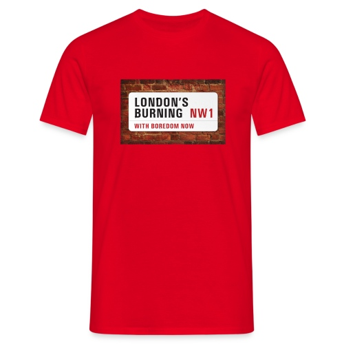 London's Burning - clash - Men's T-Shirt