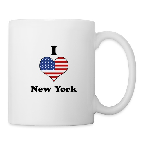 Tasse I Love NY - Mug blanc
