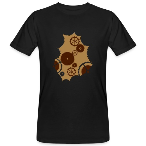 Steampunk Clockwork male - Männer Bio-T-Shirt