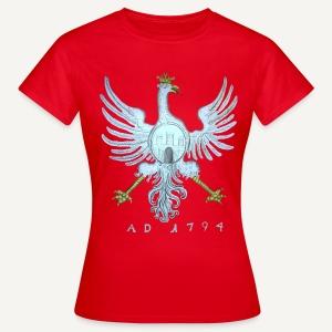Orzeł z flagi Krakowa - Koszulka damska