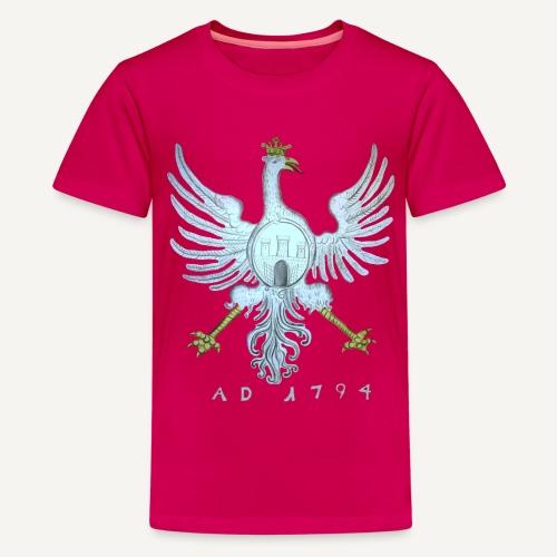 Orzeł z flagi Krakowa - Koszulka młodzieżowa Premium