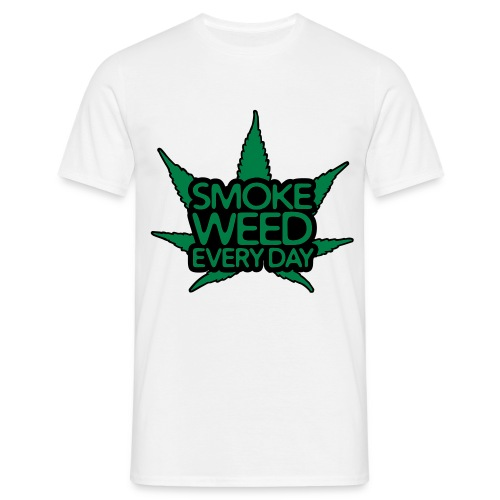 Smoke Weed Everyday v.8 - T-shirt Homme