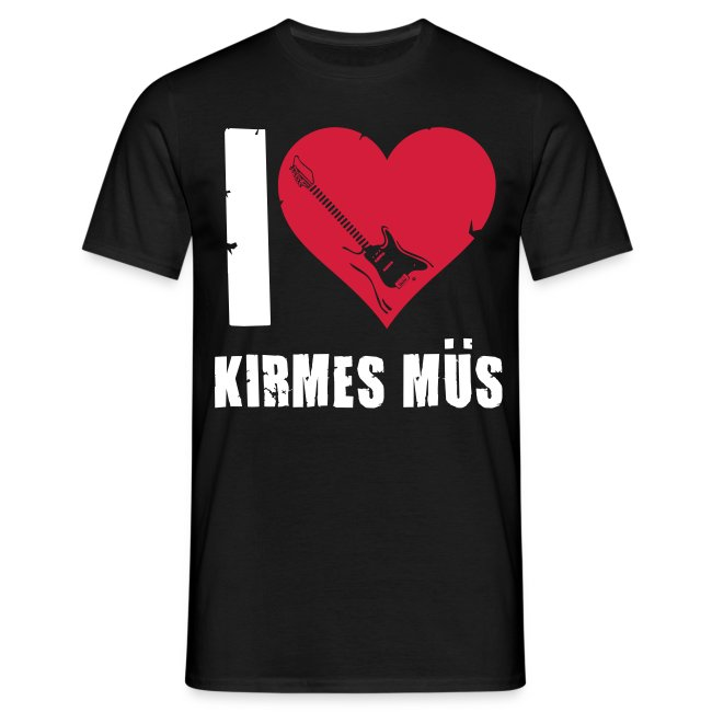 "T-Shirt ""I Love Kirmes Müs"""