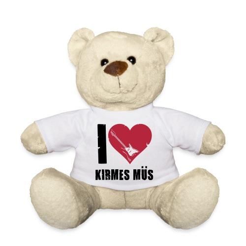 Bär I Love Kirmes Müs - Teddy