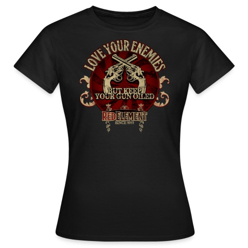 RED ELEMENT No. III - Girls - Frauen T-Shirt