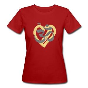 Luonnonmukainen Om-t paita - Naisten luonnonmukainen t-paita