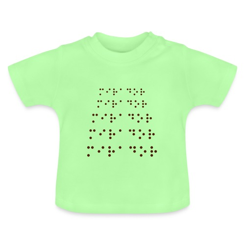 Braille-Dot Classic Babys - Baby T-Shirt