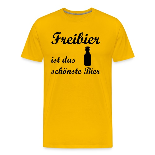 Freibier - Männer Premium T-Shirt