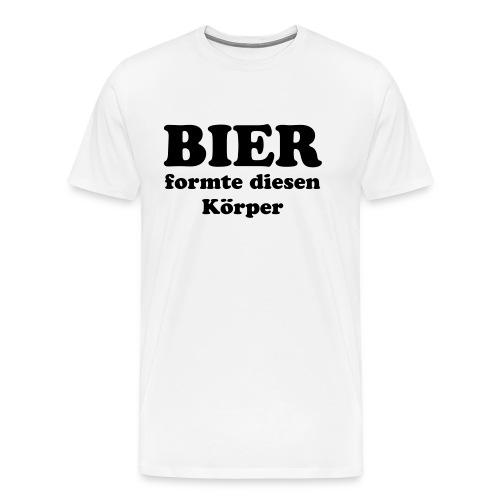 Bierformte - Männer Premium T-Shirt