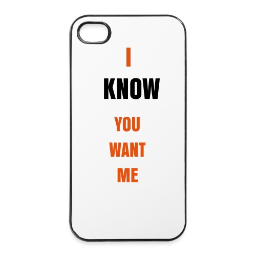 IPhone Hard-Case I Know You Want Me - iPhone 4/4s Hard Case