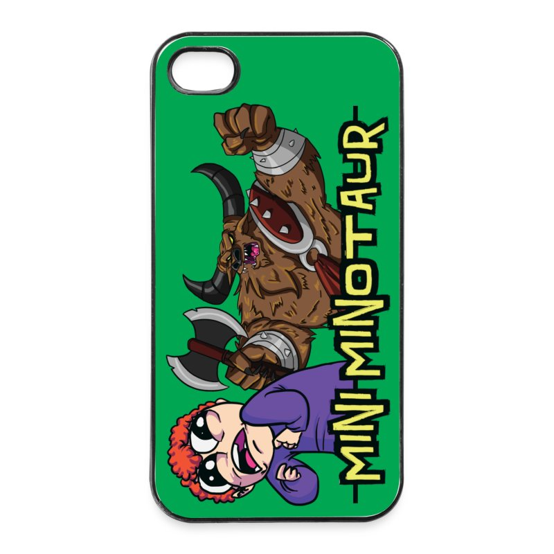 Mini Minotaur - iPhone 4/4s Hard Case