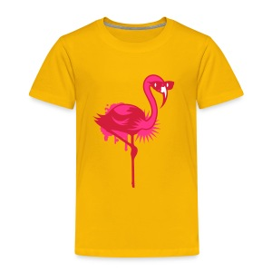 Flamingo with sunglasses Shirts - Kids' Premium T-Shirt