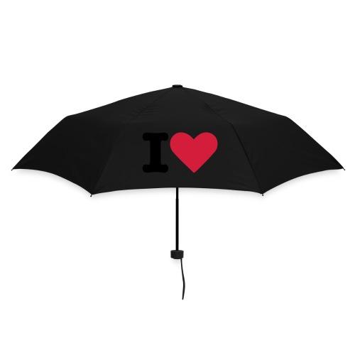Parapluie I Love Texte - Parapluie standard