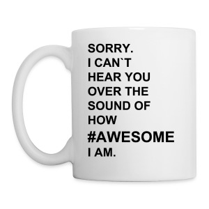 #AWESOME cup - Tasse