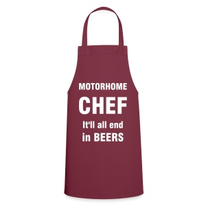 Motorhome chef - It'll end in beers - Cooking Apron