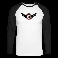 Long sleeve shirts ~ Men's Long Sleeve Baseball T-Shirt ~ JSH Logo #10-b
