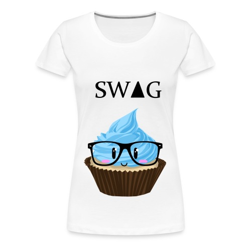 sweet, swag, cupcake T-shirt - Frauen Premium T-Shirt