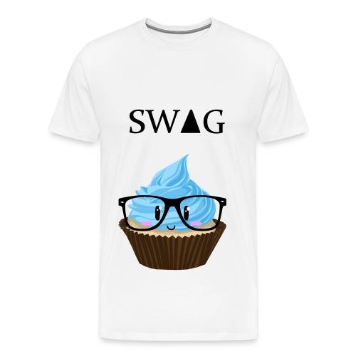 sweet, swag, cupcake T-shirt - Männer Premium T-Shirt