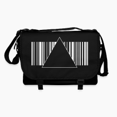 Barcode hipster triangle 2 c. Bags