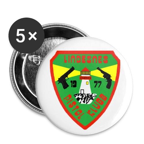Button med logo - Stor pin 56 mm (5-er pakke)