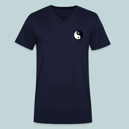 Ying-Yang - Männer Bio-T-Shirt mit V-Ausschnitt von Stanley & Stella