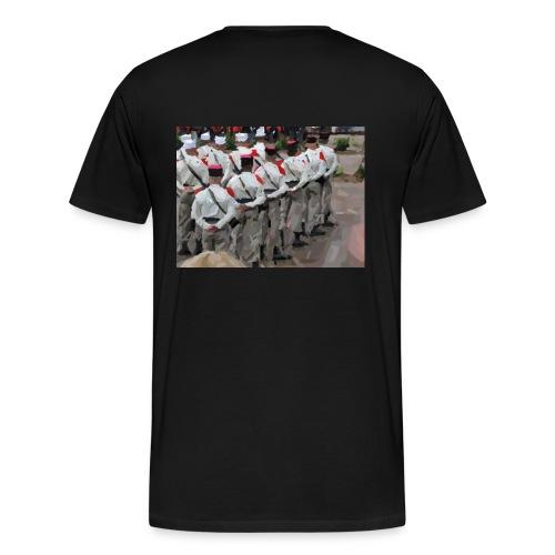 T-shirt classique homme peinture - T-shirt Premium Homme
