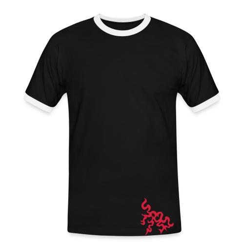 tribal rider - T-shirt contrasté Homme