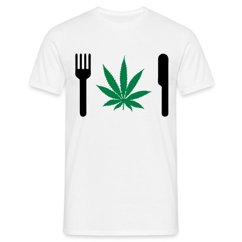 I Eat Weed - T-shirt Homme