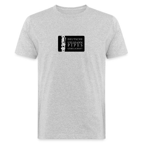 Bio Herren Shirt: DUPG Logo transparent - mittlere Logo Größe - Männer Bio-T-Shirt