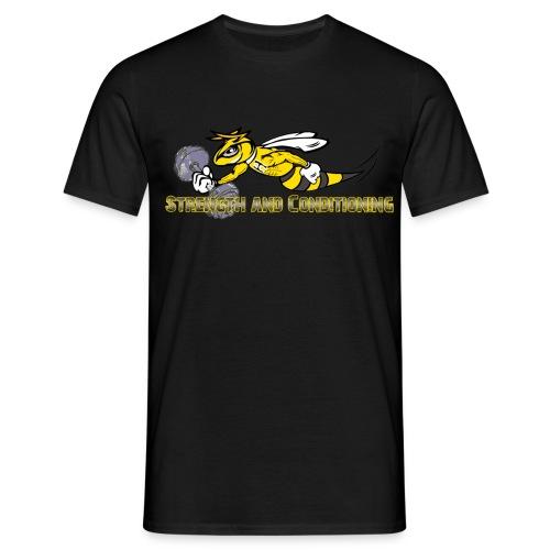 S & C Mens black - Männer T-Shirt
