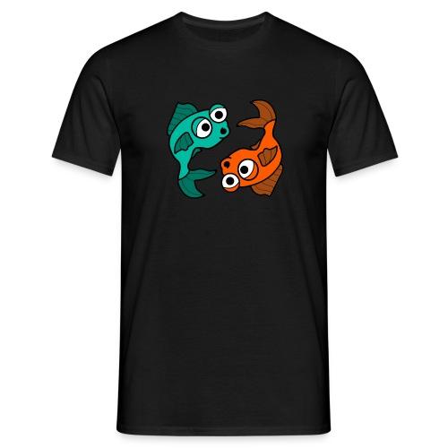 poissons bd - T-shirt Homme