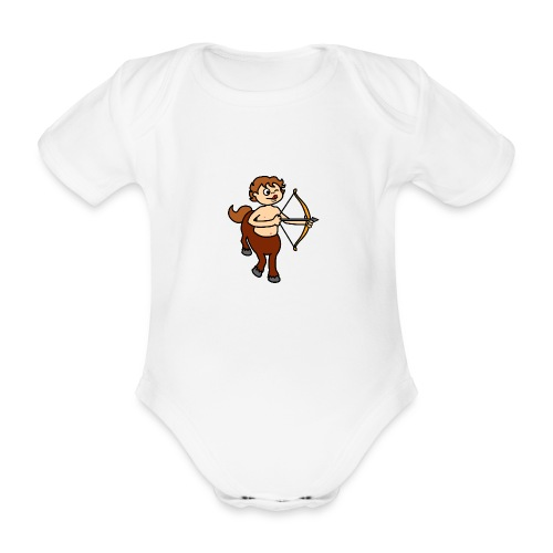 sagittaire bd - Body bébé bio manches courtes
