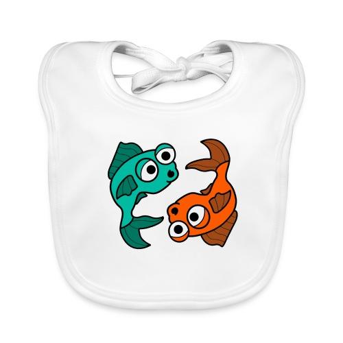 poissons bd - Bavoir bio Bébé