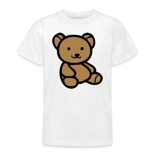T-Shirt med Bamse - Teenager-T-shirt