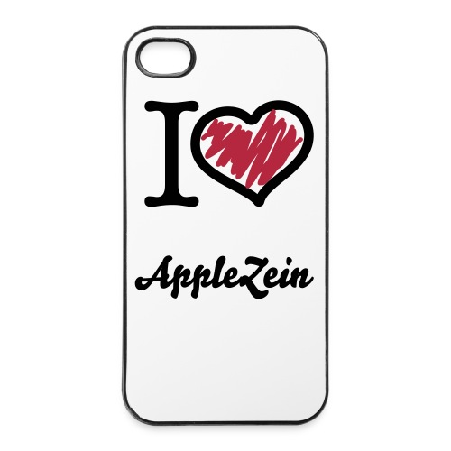 I Love AppleZein - Custodia rigida per iPhone 4/4s