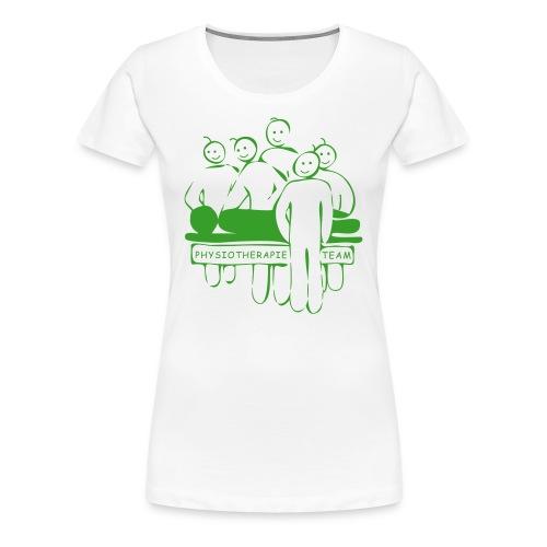 Physiotherapie Team - Frauen Premium T-Shirt