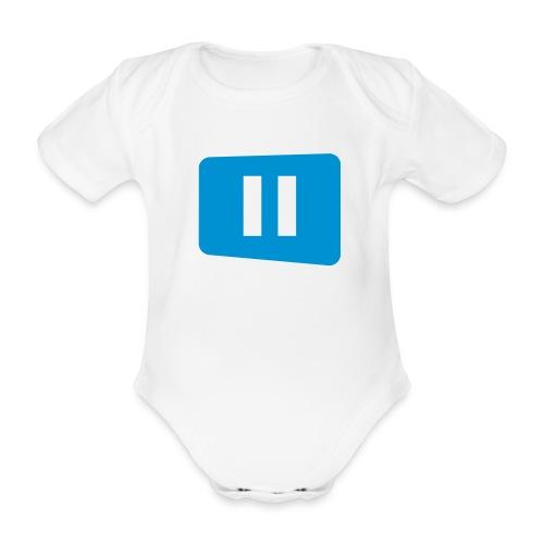 Vauvan body Pause - Vauvan lyhythihainen luomu-body