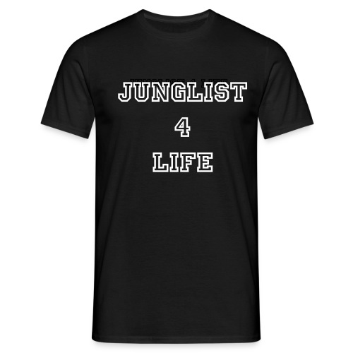JUNGLIST FOR LIFE - Men's T-Shirt