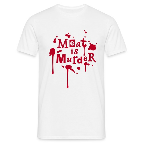 Mens Shirt 'Meat is Murder' W - Männer T-Shirt