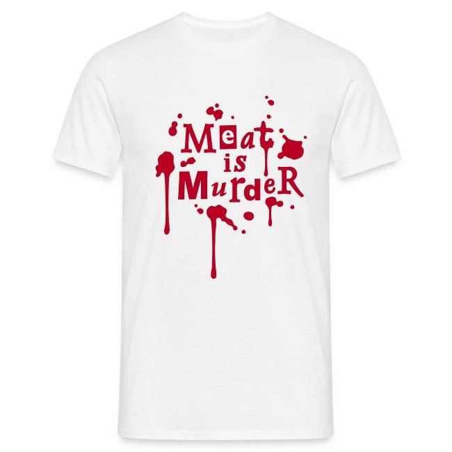 Mens Shirt 'Meat is Murder' W