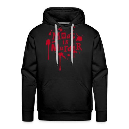 Mens Hoodie 'Meat is Murder' - Männer Premium Hoodie