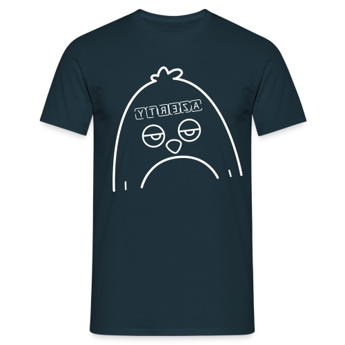 Pingouin Azerty - T-shirt de Geek - T-shirt Homme