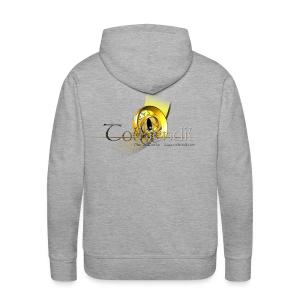 Logo Griffe Digital Dos Sweat Homme - Sweat-shirt à capuche Premium pour hommes
