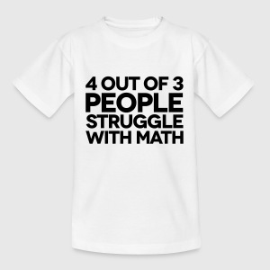 Struggle With Math T-shirts - T-shirt barn