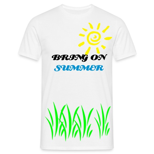 Bring On Summer - Men's T-Shirt