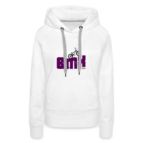 BMX EUROPE - Sweat-shirt à capuche Premium pour femmes