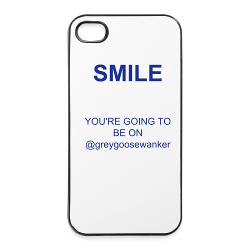 SMILE IPHONE 4/4s - iPhone 4/4s Hard Case