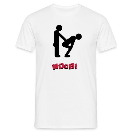 Bend over noob - Men's T-Shirt
