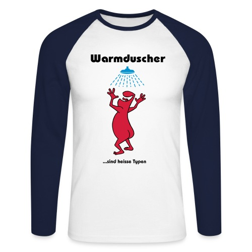 warmduscher - Men's Long Sleeve Baseball T-Shirt