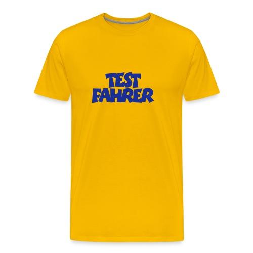 Männer T-Shirt klassisch Test Fahrer - Männer Premium T-Shirt